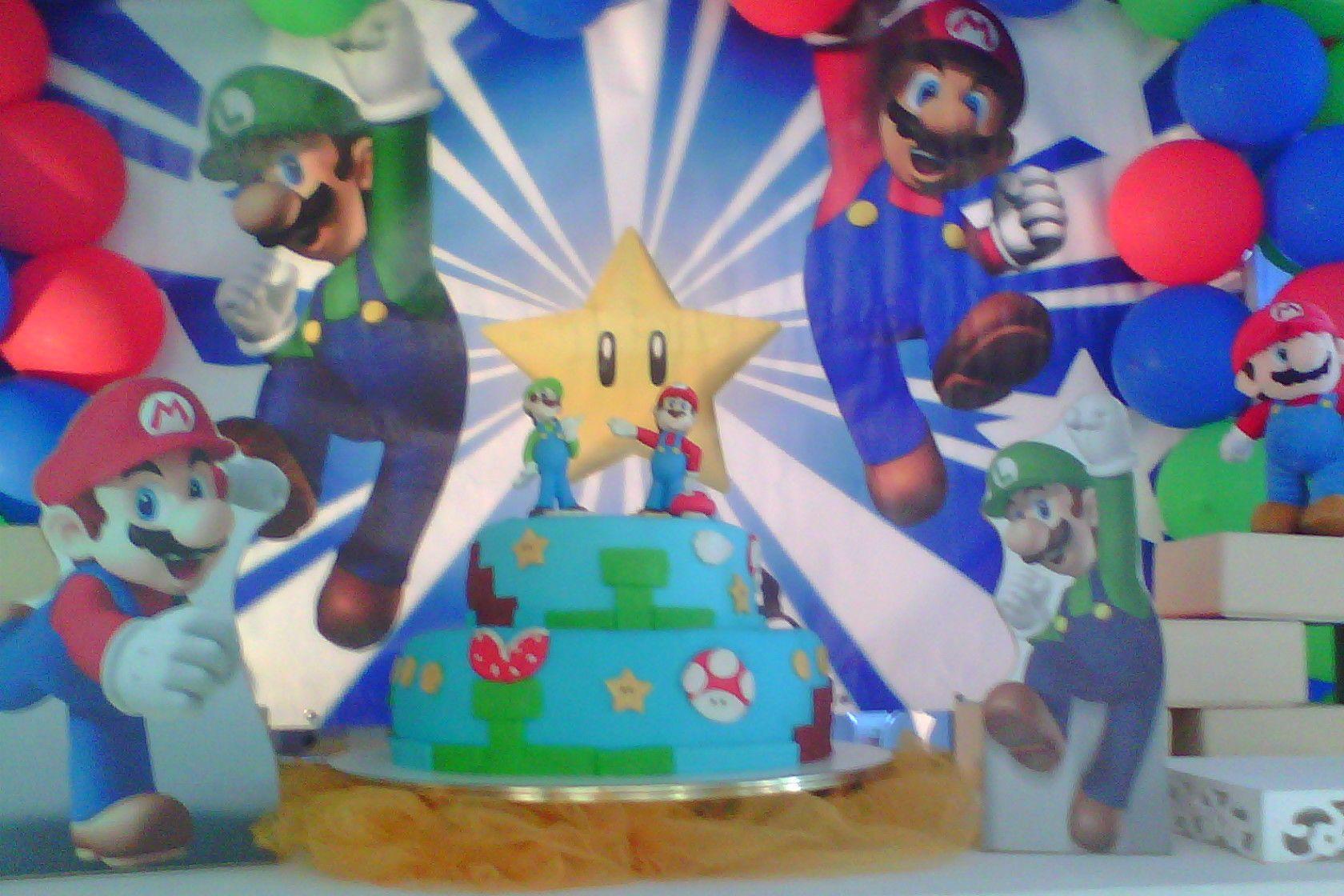 Bolo Super Marios