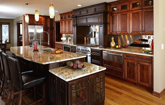 Luxury kitchen designs dreammaker bath and kitchen for Luxurious kitchen designs photos