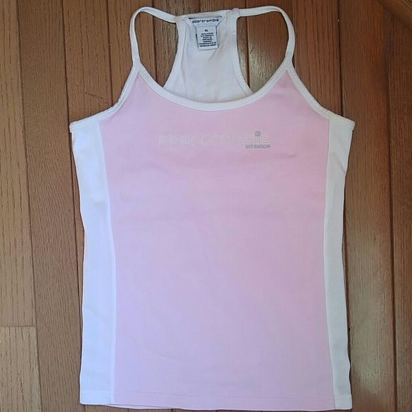 68cddcea70ed3 3 for  15 Abercrombie Athletic Tank Light pink athletic tank from Abercrombie  Kids. Mesh