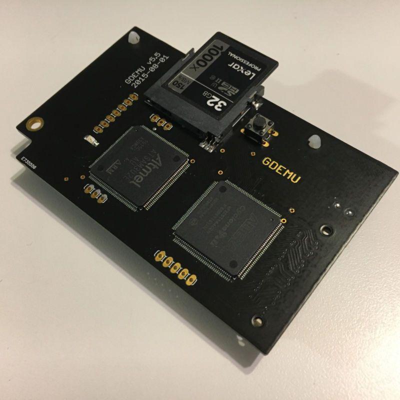 GDEMU Optical Drive Emulator ODE for Sega Dreamcast