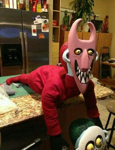 Lil devil Jack Skellington Pinterest Devil and Jack skellington - decorate cubicle for halloween