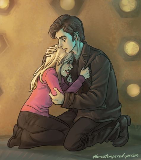 Tenth Doctor And Rose Doctor Who Doctor Who Doctor Doctor Who Art