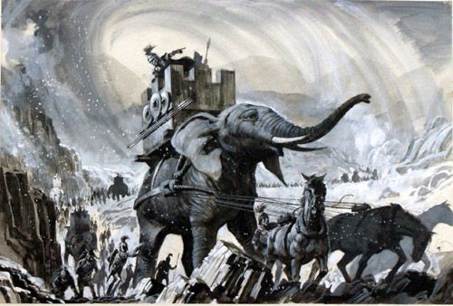 Hannibal Barca Of Carthage Enemy Of Rome In The Second Punic War