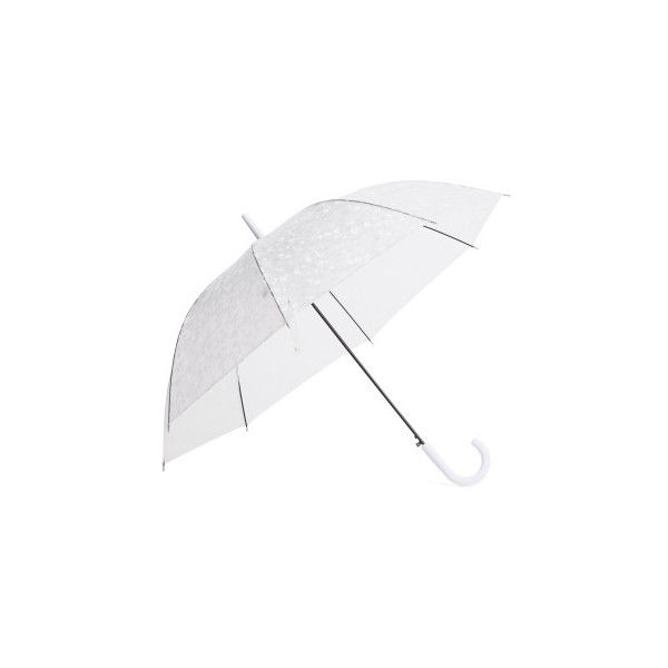 Clear Bubble Auto Open Umbrella ($13) ❤ liked on Polyvore featuring accessories, umbrellas, clear bubble umbrella, clear umbrella and bubble umbrella