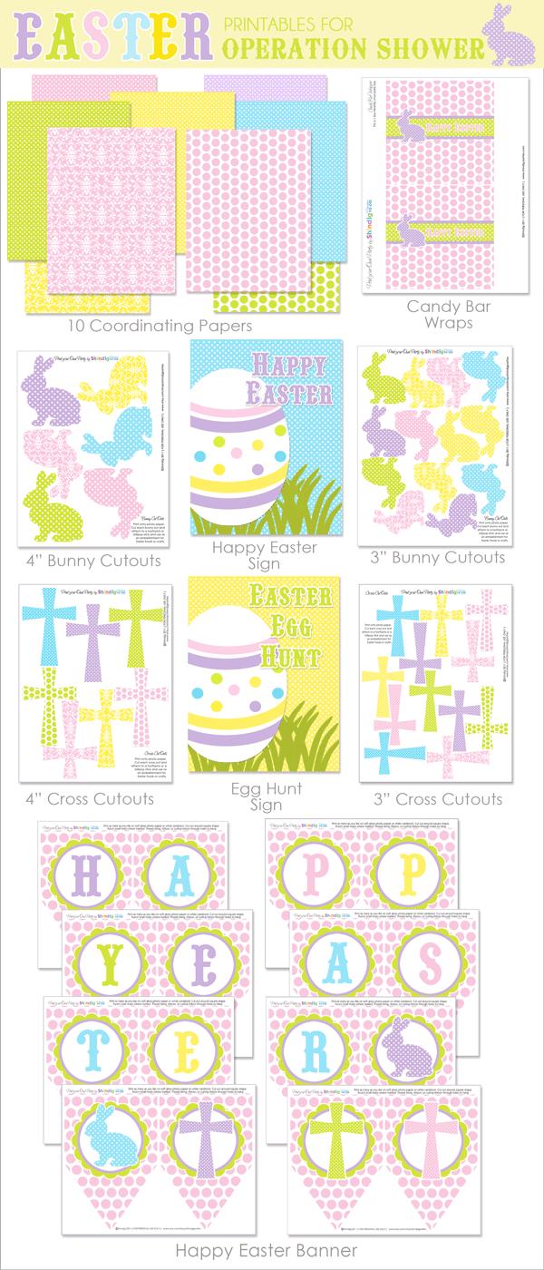 Free Easter printables.
