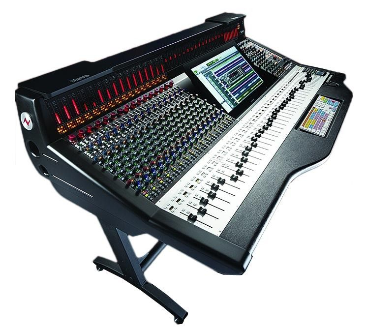 Ams Neve Genesys Black G64 Console 48 Faders 32 Analogue