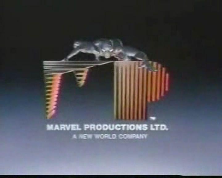 Marvel Productions 1986 Logo Entertainment Logo Marvel Marvel Studios Logo
