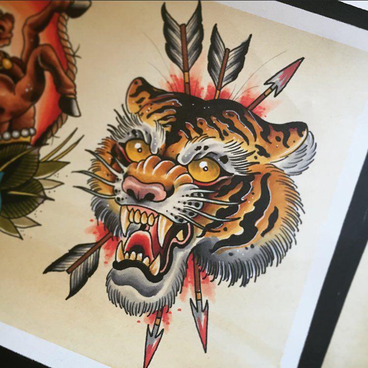 40 Gorgeous Tiger Tattoo Meanings & Design For Men and Women tatuajes | Spanish tatuajes |tatuajes para mujeres | tatuajes para hombres | diseños de tatuajes http://amzn.to/28PQlav