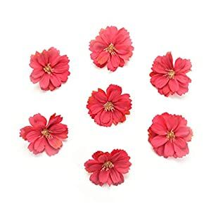Fake flower heads in bulk wholesale for Crafts Artificial Silk Flowers Head Peony Daisy Decor...