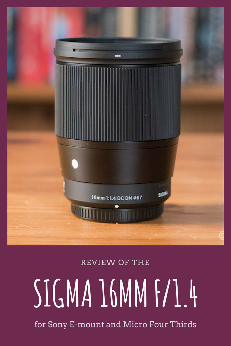 Heather And Mathieu Of Mirrorlessons Share Their Full Review Of The Sigma 16mm F 1 4 Dc Dn Contemporary For Sony E Best Camera For Photography Sony Best Camera