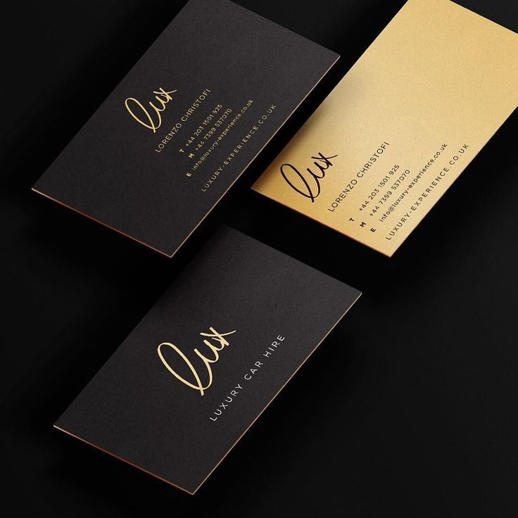 Design business card with two concepts | Business cards, Business ...