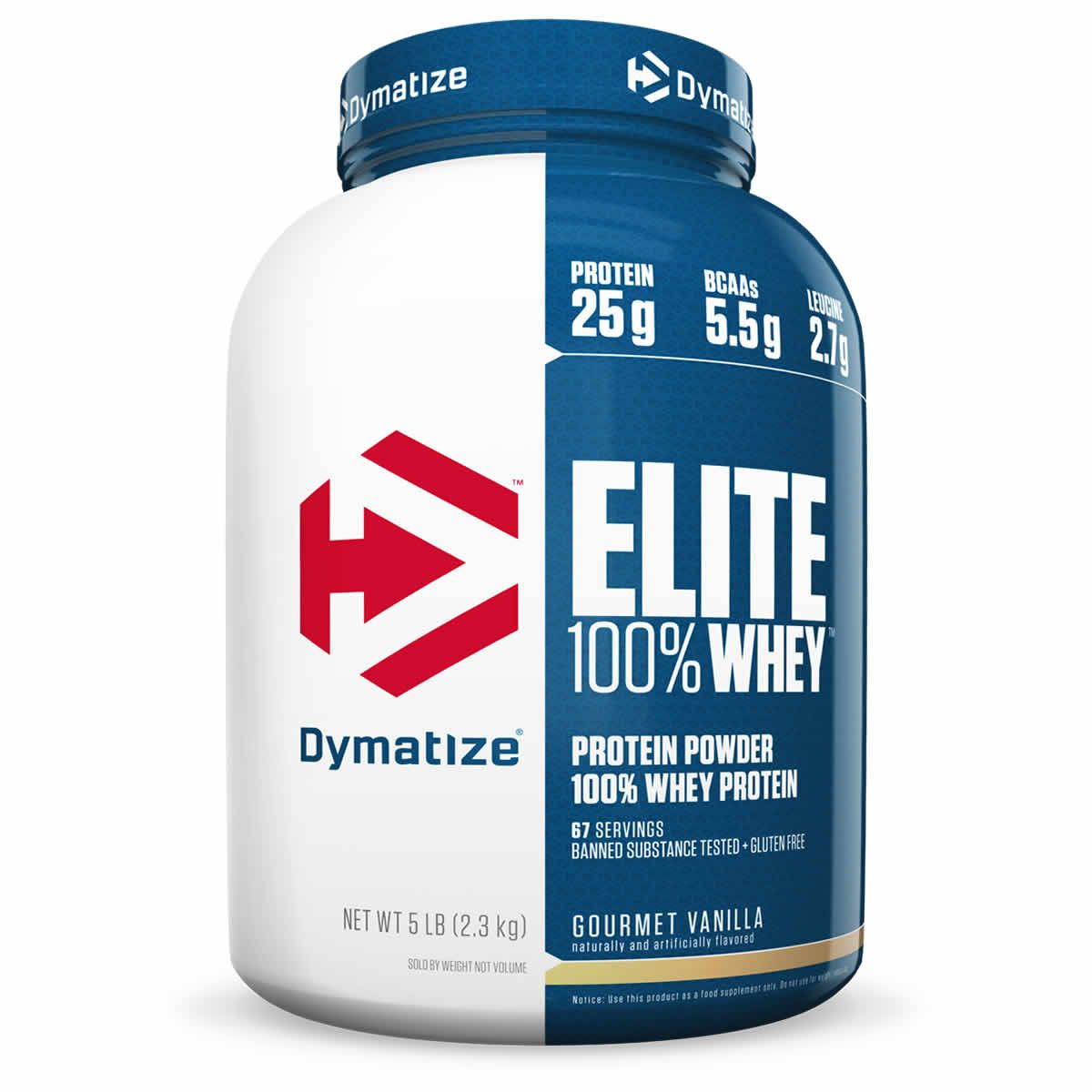9608b84b5 Dymatize Elite 100% Whey Protein Powder – 5 lbs in 2019