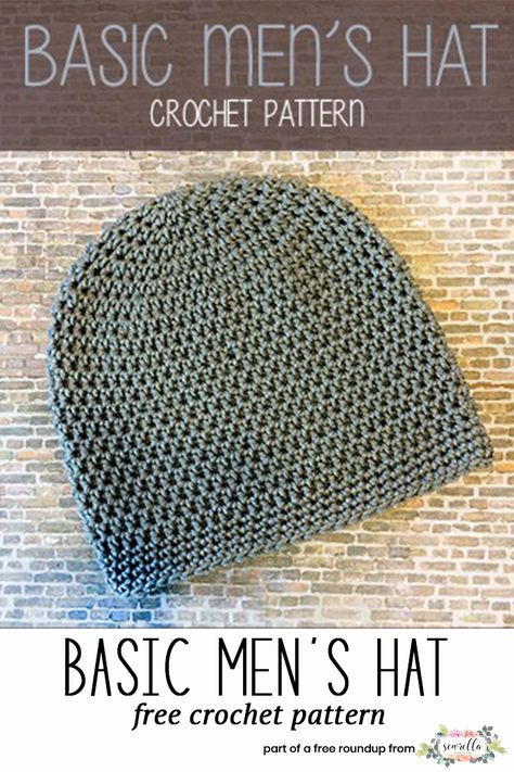 Husband-Approved Crochet Hats for Men