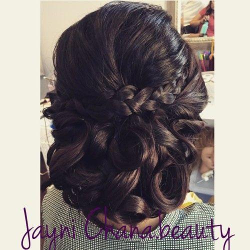 Wedding Juda Hairstyles: Braided Juda For Sangeet Function