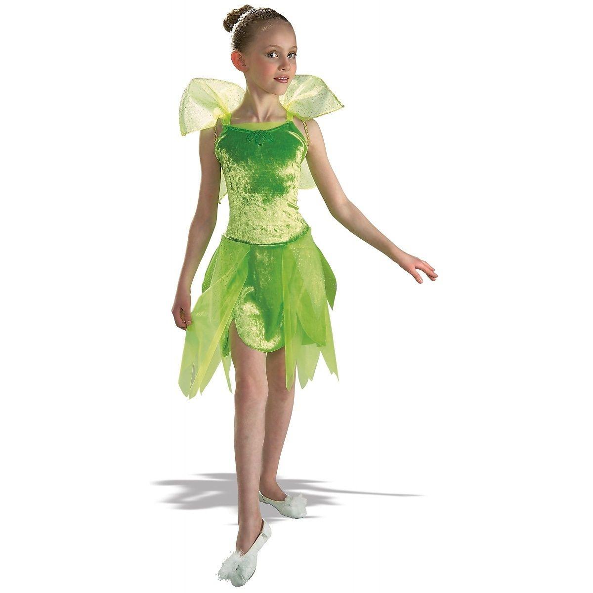 Tinker Bell Child Girls Tinkerbell Green Pixie Fairy Peter Pan Halloween Costume Halloween Fancy Dress Pixie Costume Girls Tinkerbell Costume [ 1200 x 1200 Pixel ]
