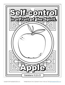 Fruit of the Spirit: Self Control | Spiritual Concepts: Fruit of ...