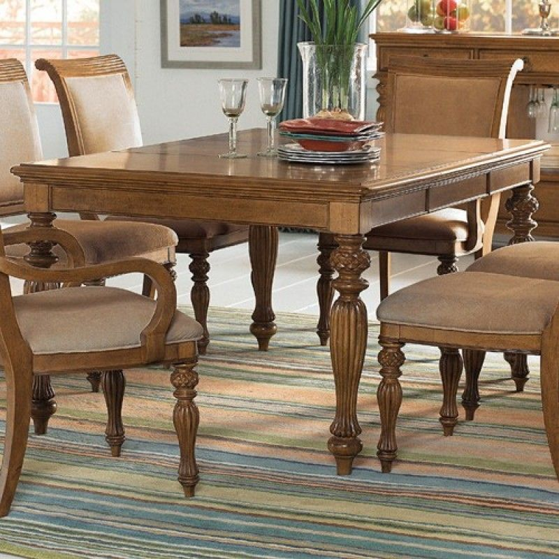 American Drew Grand Isle Rectangular Leg Table AD-079-760 ...