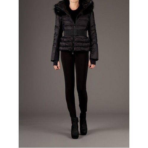 a86691403bfe Moncler Doudoune- Moncler Patri Femme Noir   Coats   Pinterest ...