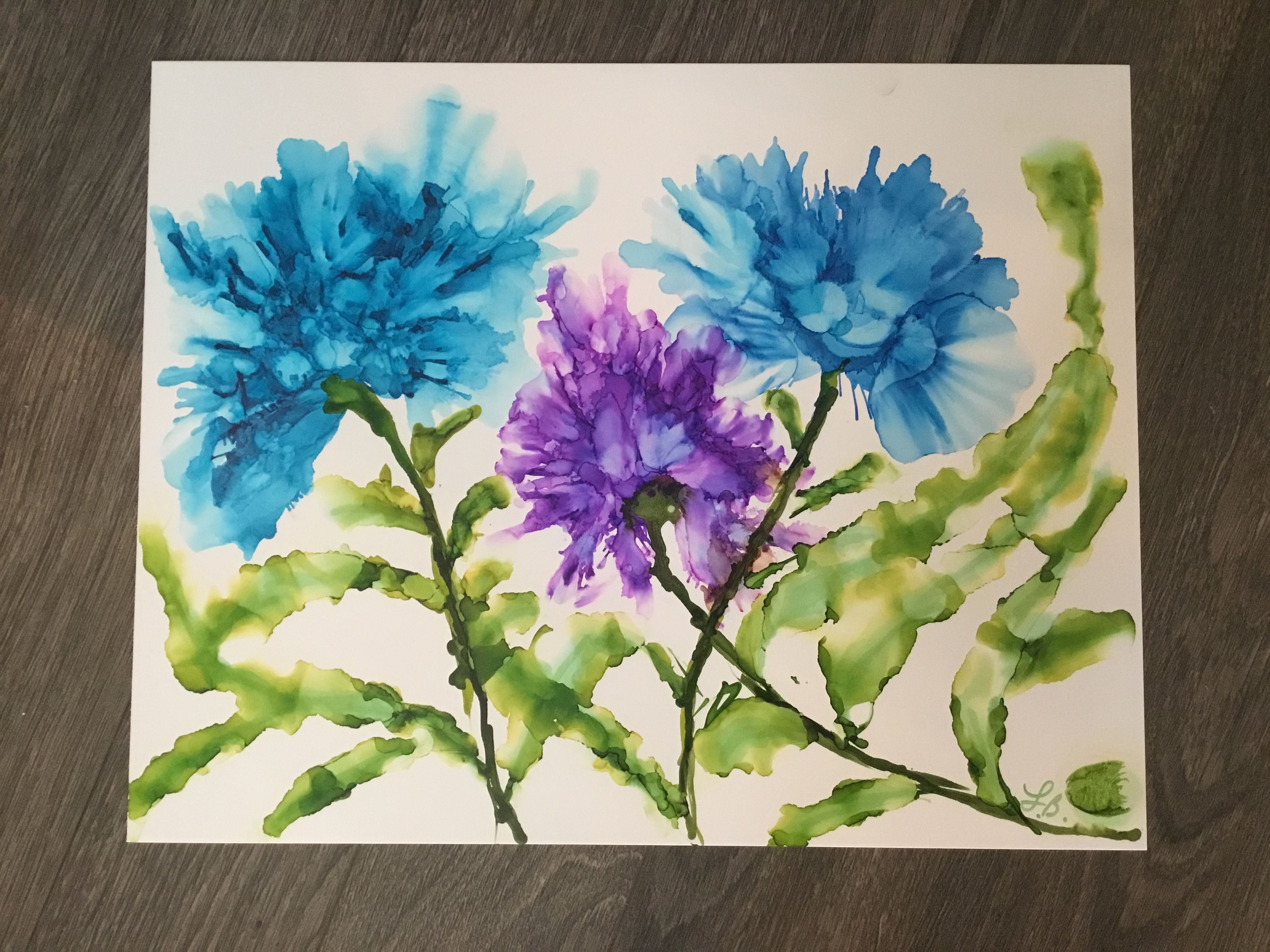 Cool Flower Paintings