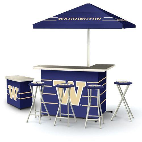 Ncaa Washington Huskies Portable Deluxe Tailgate Bar Stool