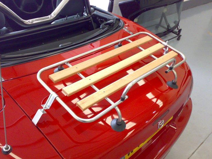Classic car Luggage Boot rack Aluminium