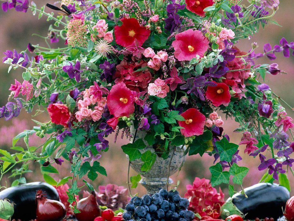 Kwiaty Tapeta Na Pulpit 208 Edycja Wrzutka Buque De Flores Flores Bonitas Papel De Parede Flores
