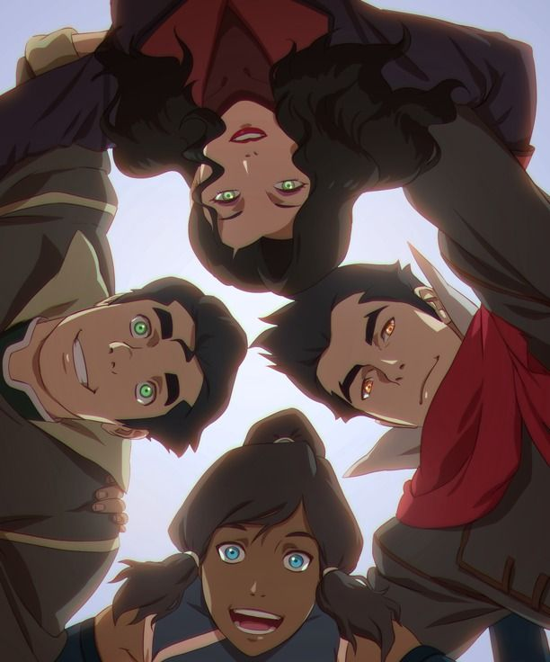 Team Avatar Rogie Custodio Legend Of Korra Team Avatar Avatar Airbender