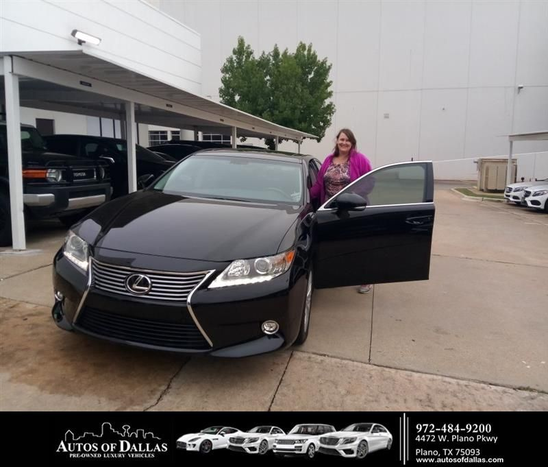 Congratulations Kerri On Your Lexus Es 350 From John Hernandez Ii At Autos Of Dallas Autosofdallas Car Dealership Auto Welcome To The Family