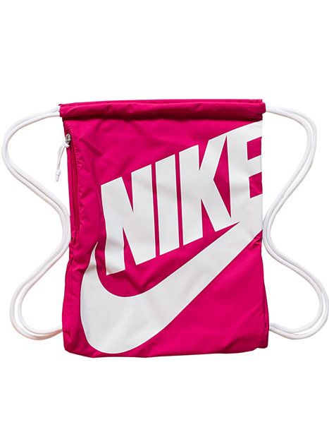 f11b8660ecf6 Drawstring Bags · Heritage Gymsack - Nike - Fireberry - Tassen -  Accessoires - Vrouw - Nelly.com
