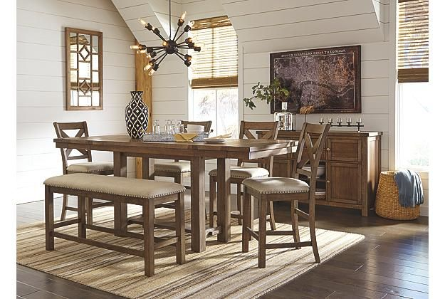 French Country Dining Room Styles | Ashley Furniture HomeStore