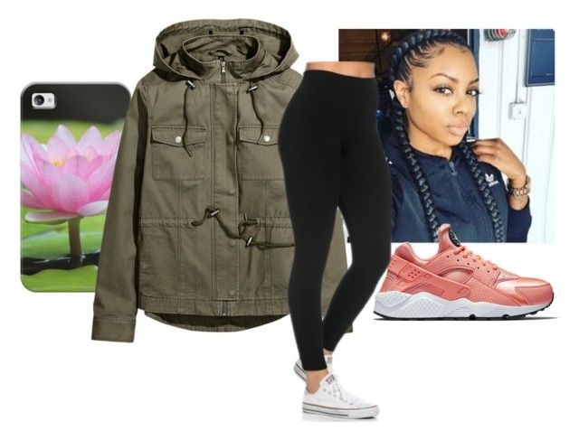 """"""""""" by tylabest138 ❤ liked on Polyvore featuring Casetify, NIKE and H&M"""