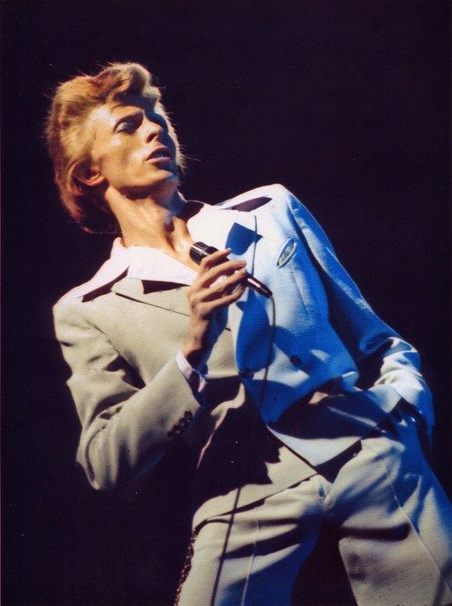 David Bowie, Universal Ampitheatre, Los Angeles, September 1974,  by Marvin Rinnig