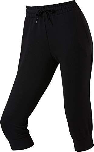 adidas W E Lin 34 PT Pantalon de Sport Femme BlackWhite FR