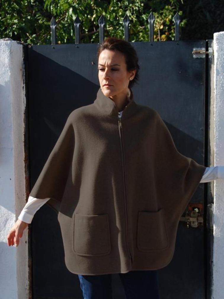Cape coat, Pdf Sewing Pattern for Women | Pinterest