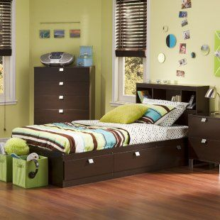 Cakao Bookcase Storage Bed By South Shore Love 4 Aubree Junge