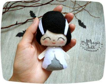 Adornos Halloween fieltro decoración juguete de por MyMagicFelt