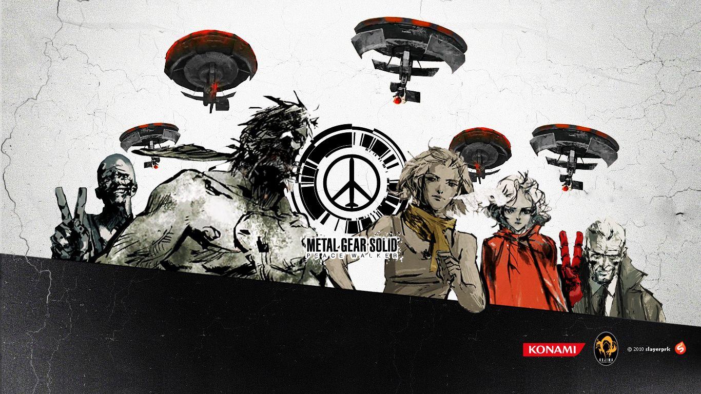 Metal Gear Solid Peace Walker Wallpaper General Gaming Metal