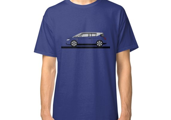 Renault Avantime Classic T Shirt By 3pedaldriving Classic T