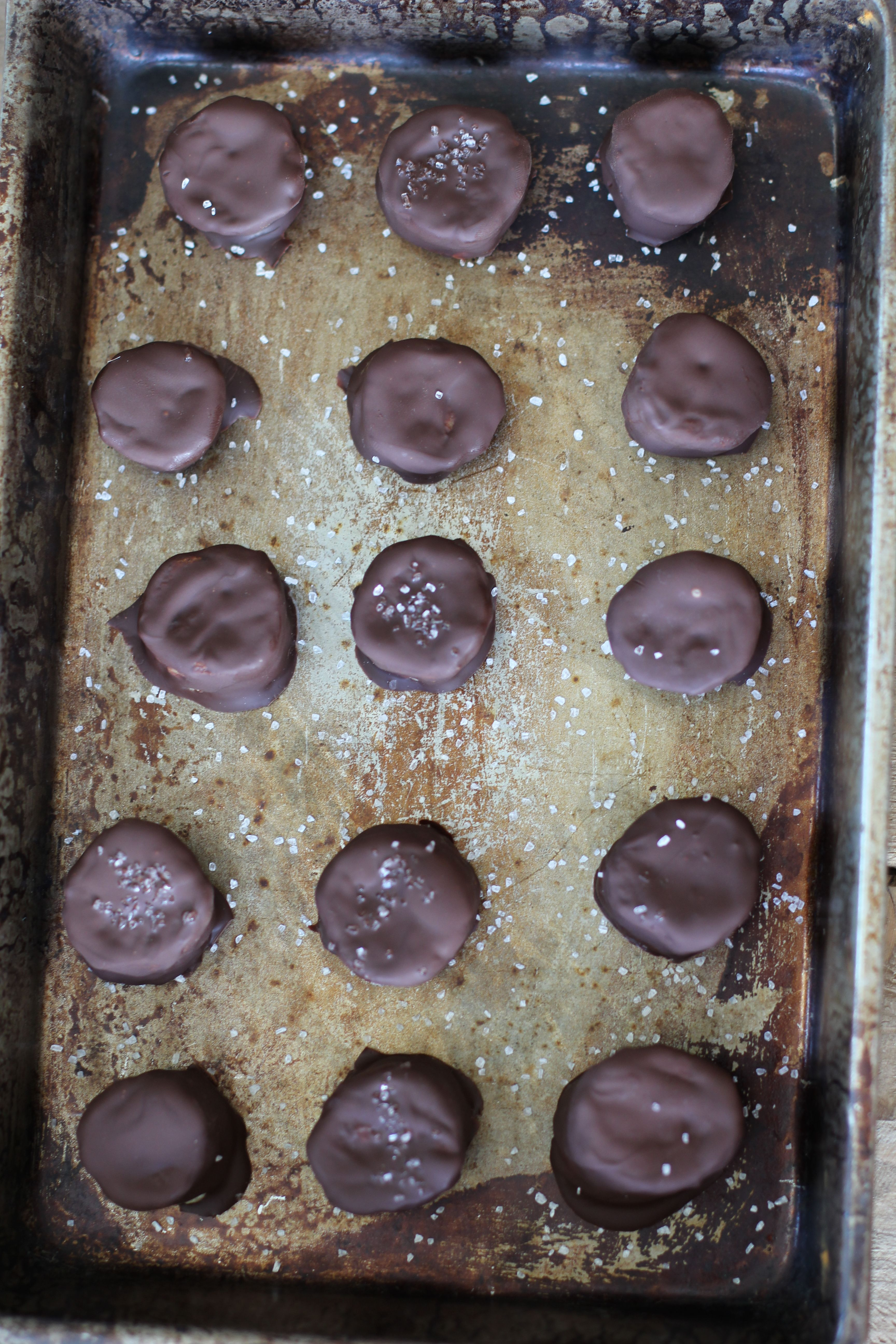 Frozen Chocolate Covered Carmelized Bananas - great simple treat:-)
