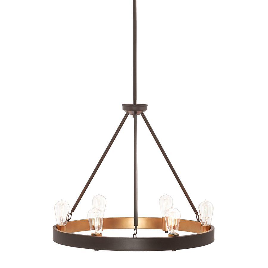Shop Kichler Lighting Covington 6 Light Olde Bronze Chandelier At Lowes.com  · Dining Room ...