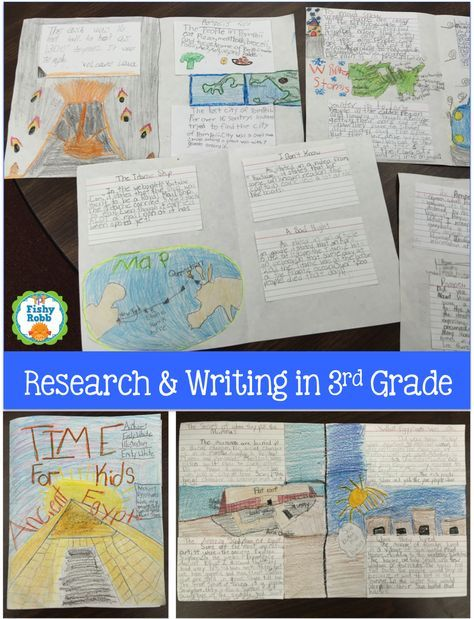Research and writing in 3rd grade