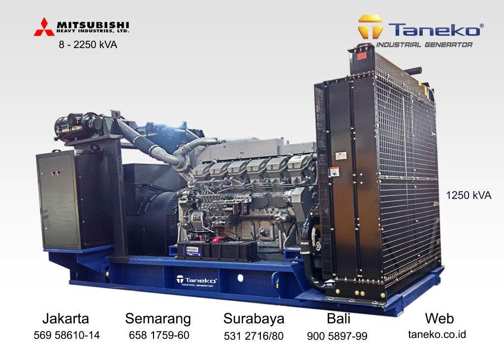 First Post 2017 At Frame Mitsubishi S12r Pta 1250 Kva Prime Power Set Mounted Acb Breaker Quality Generator Product From Taneko Semarang Surabaya Bali