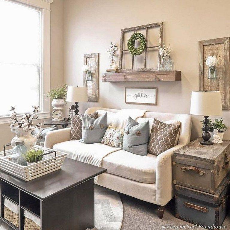 Photo of ✔96 beautiful farmhouse living room design and decor ideas 1 » Home Designs