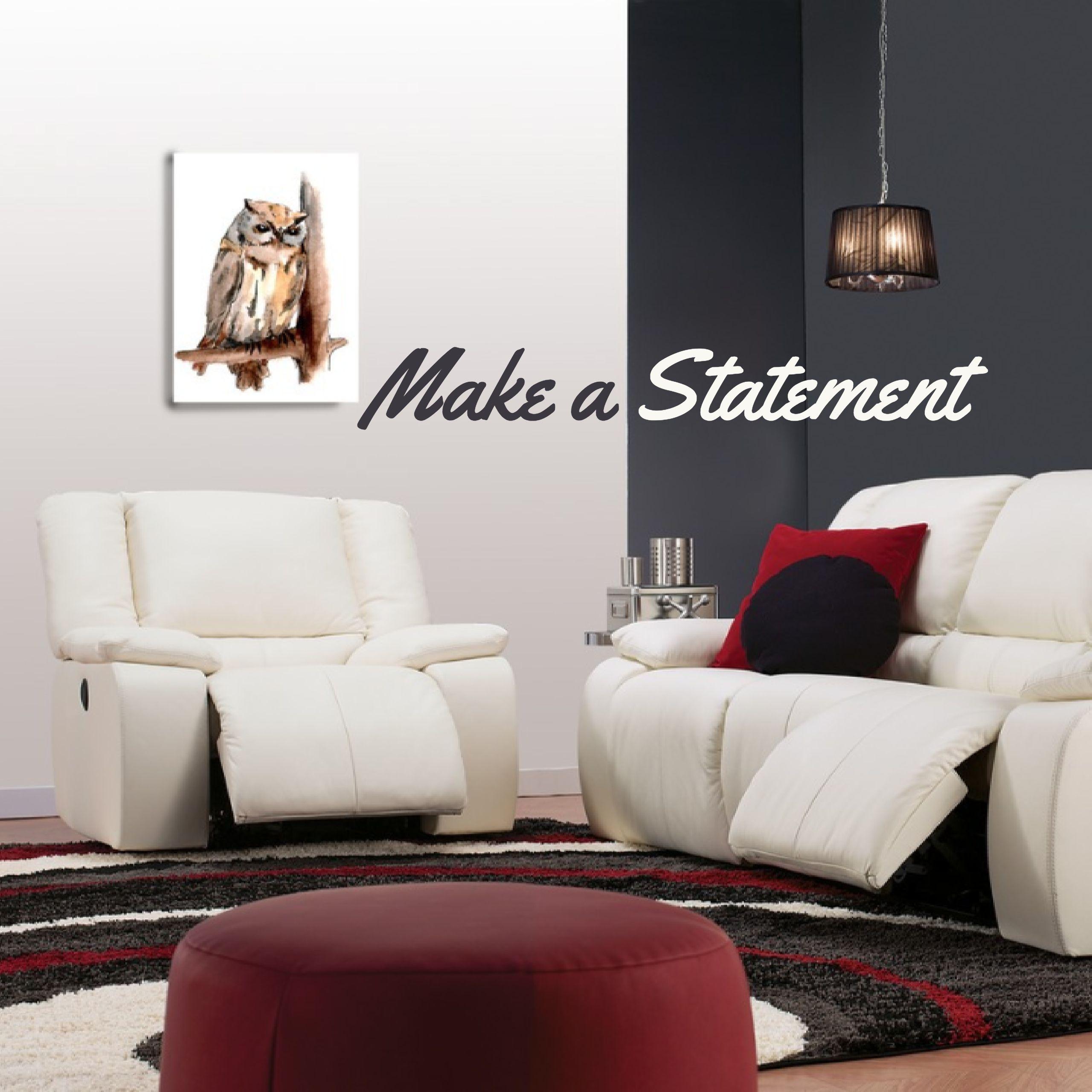 Our Harrow sofa in a Tulsa II Chalk provides sleekness and