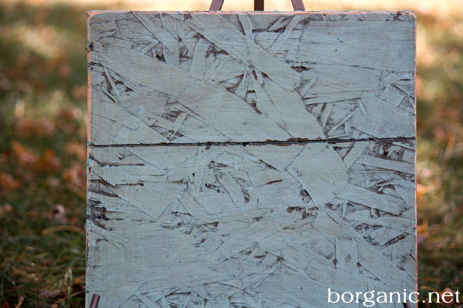 Leftover Scraps Of Osb Board Painted Osb Osb Osb Board