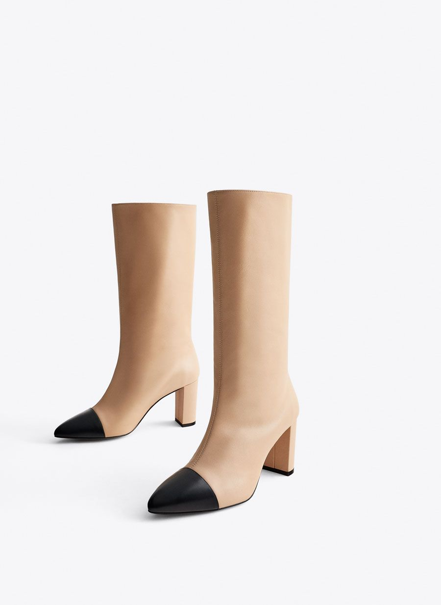HIGH HEEL PLATFORM ANKLE BOOTS Ankle boots | ZARA Canary
