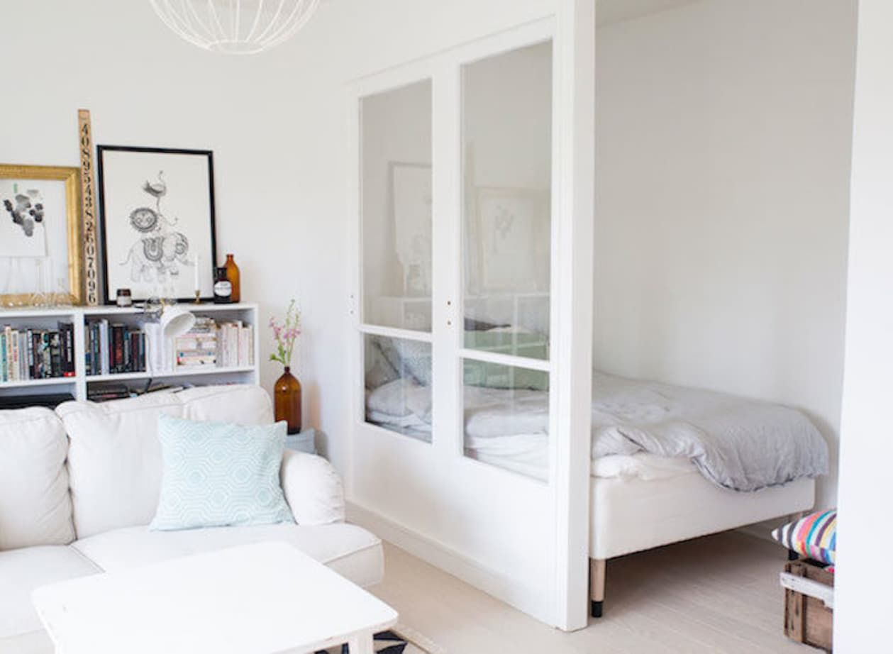 Separation Salon Chambre Studio privacy, please: ideas for carving out a cozy bedroom in a