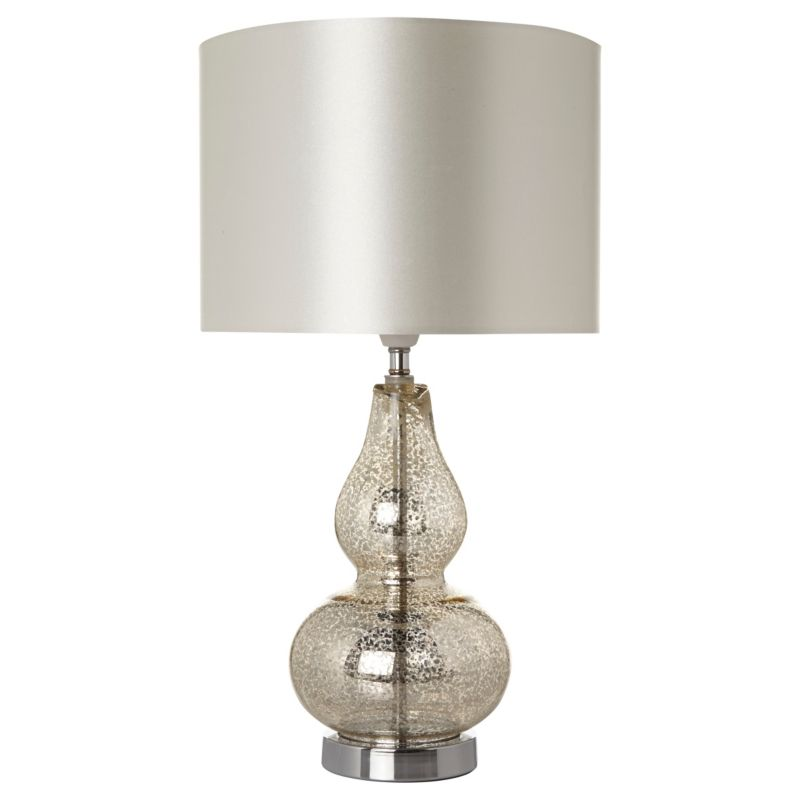Bedside Lamps? Maybe Too Silver.