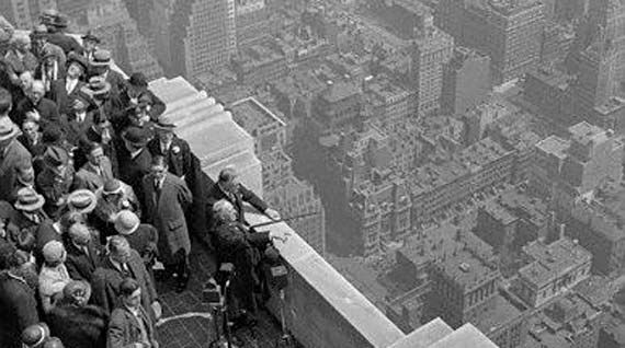 May 1, 1931 - The Empire State Building opened