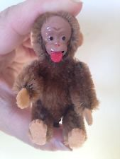 Rare Vintage Blecky Fully Jointed Miniature Schuco Monkey 50s